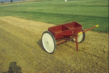 Fall grass seeding